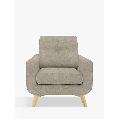 John Lewis Barbican Armchair, Light Leg