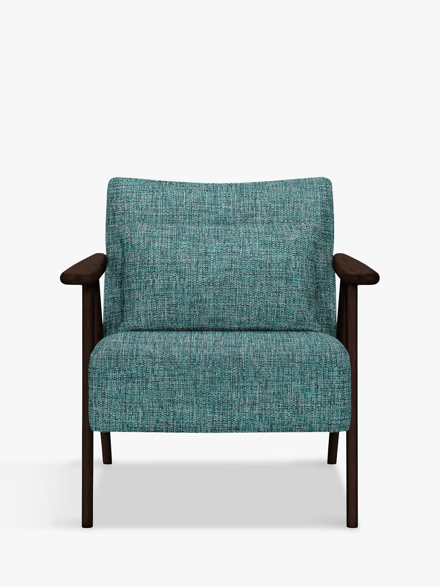 John lewis partners hendricks accent chair dark wood - Dark teal accent chair ...