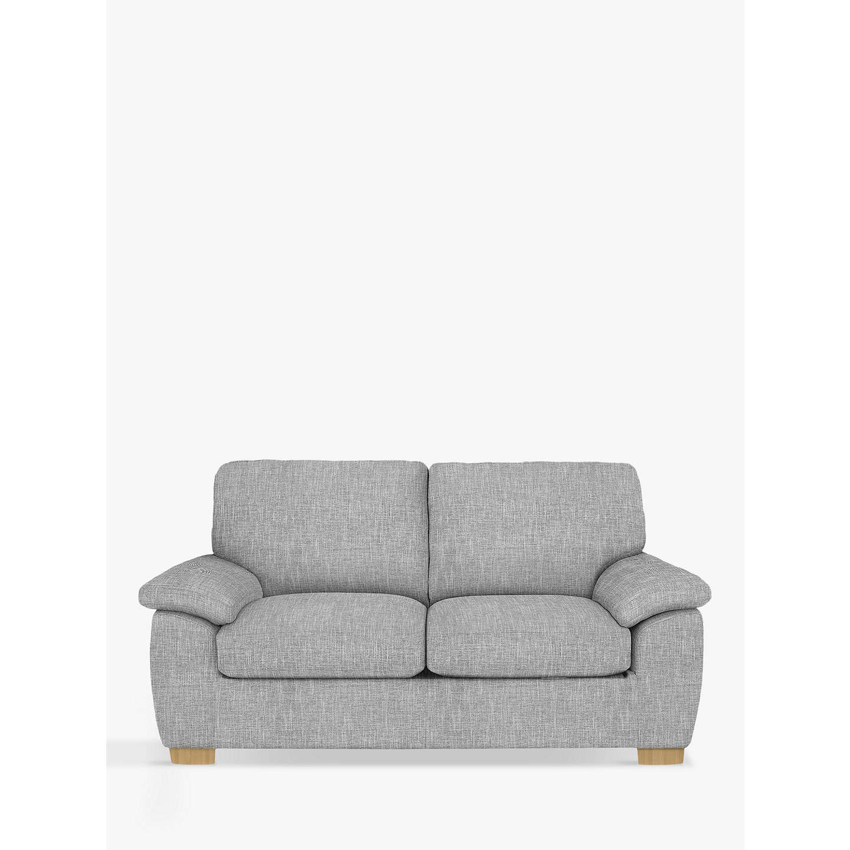 John Lewis Camden Medium 2 Seater Sofa Light Leg Arden Blue Grey Online At