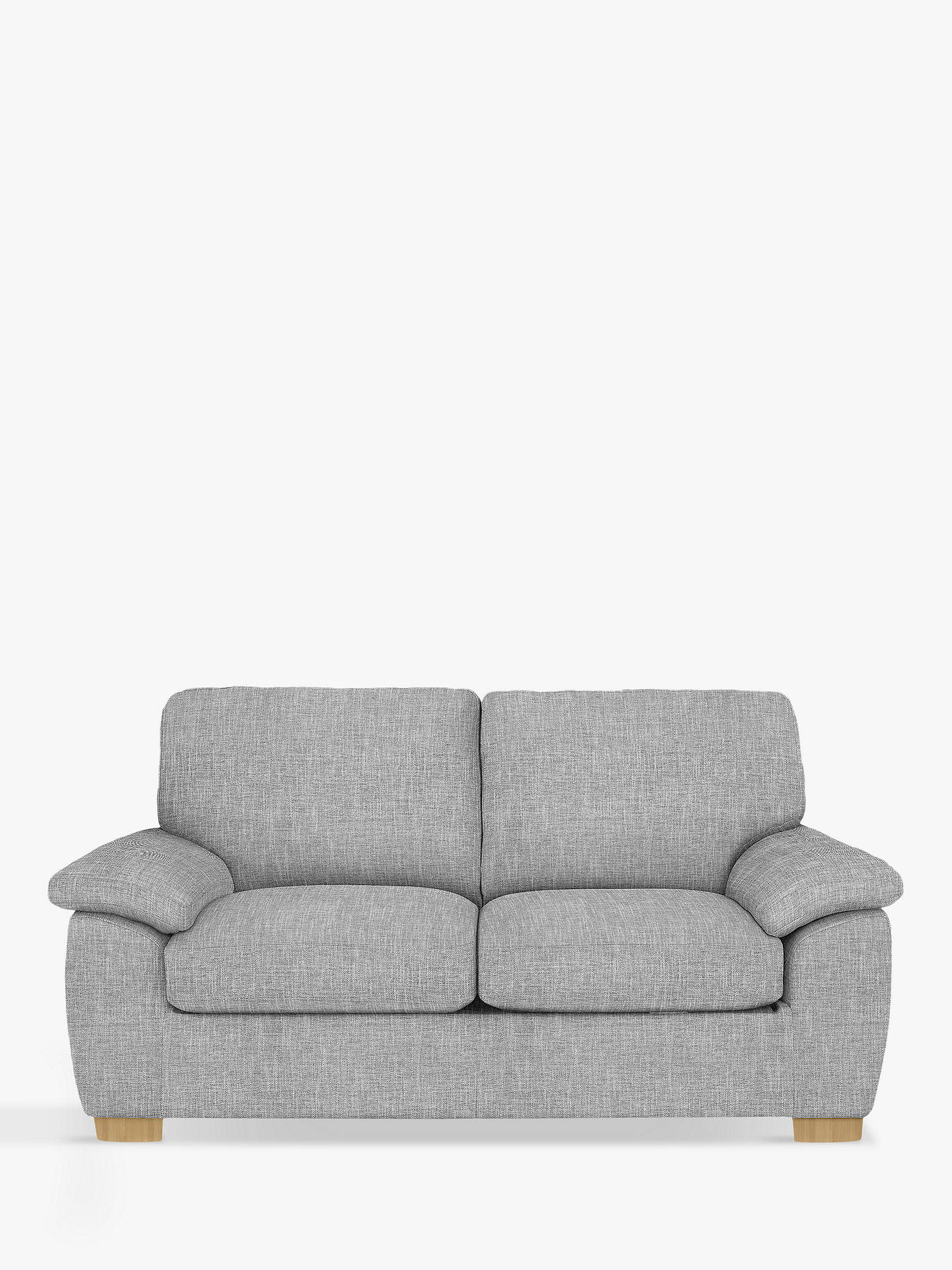 BuyJohn Lewis U0026 Partners Camden Medium 2 Seater Sofa, Light Leg, Arden Blue  Grey ...
