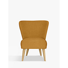 Buy House by John Lewis Audrey Accent Chair, Light Leg, Alban Sulphur Online at johnlewis.com