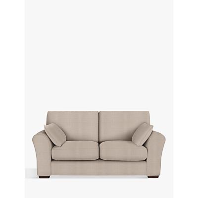 John Lewis Leon Medium 2 Seater Sofa, Dark Leg, Bala Putty
