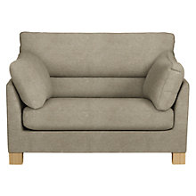 Buy John Lewis Ikon High Back Snuggler, Light Leg, Grace Mocha Online at johnlewis.com