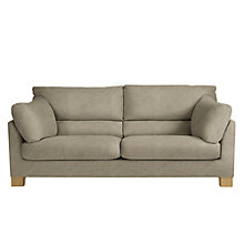 Buy John Lewis Ikon High Back Grand 4 Seater Sofa, Light Leg, Grace Mocha Online at johnlewis.com