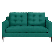 Buy John Lewis Draper Medium 2 Seater Sofa, Dark Leg, Chloe Emerald Online at johnlewis.com