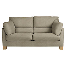 Buy John Lewis Ikon High Back Medium 2 Seater Sofa, Light Leg, Grace Mocha Online at johnlewis.com