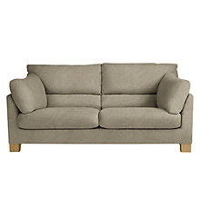 Buy John Lewis Ikon High Back Large 3 Seater Sofa, Light Leg, Grace Mocha Online at johnlewis.com