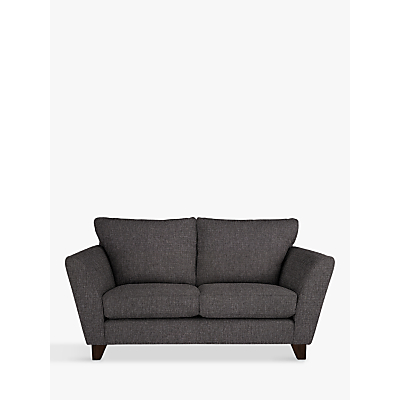 John Lewis Oslo Small 2 Seater Sofa, Dark Leg, Drayton Charcoal