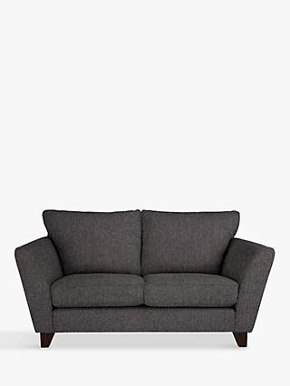 John Lewis & Partners Oslo Small 2 Seater Sofa, Dark Leg, Drayton Charcoal