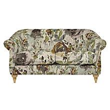 Buy John Lewis Brompton Medium 2 Seater Sofa, Light Leg, Harper Plum Online at johnlewis.com