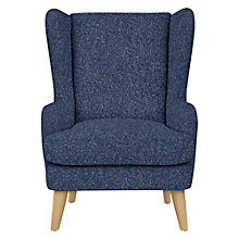Buy John Lewis Bergen Armchair, Light Leg, Brecon Sapphire Online at johnlewis.com