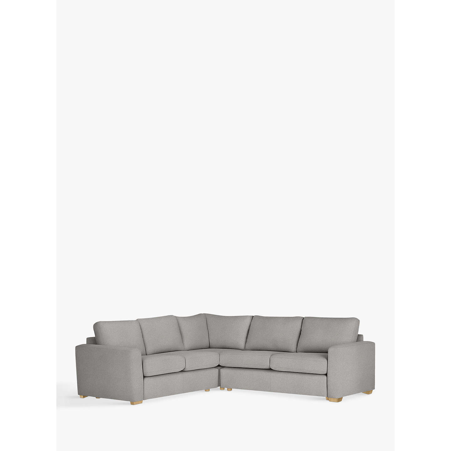 House By John Lewis Oliver Corner Pack Modular Sofa, Light