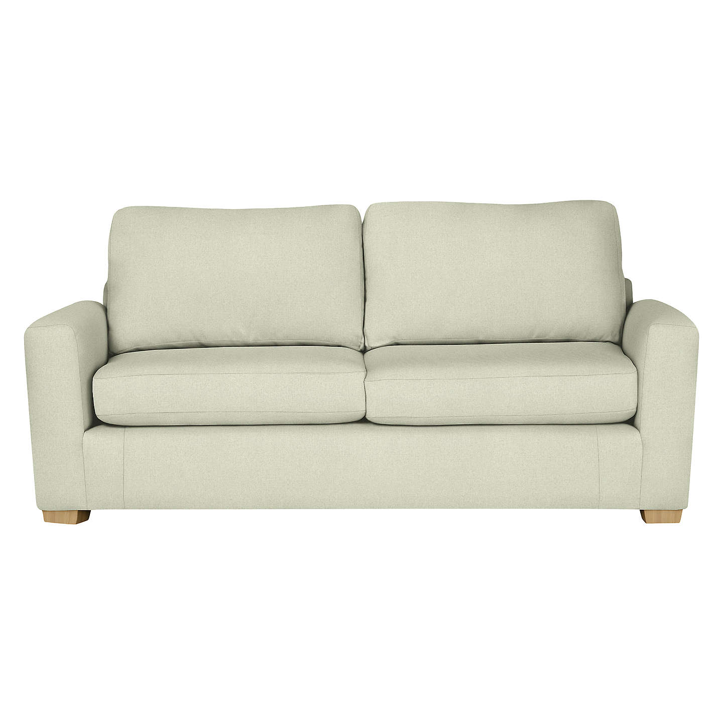 House By John Lewis Oliver Large 3 Seater Sofa, Light Leg