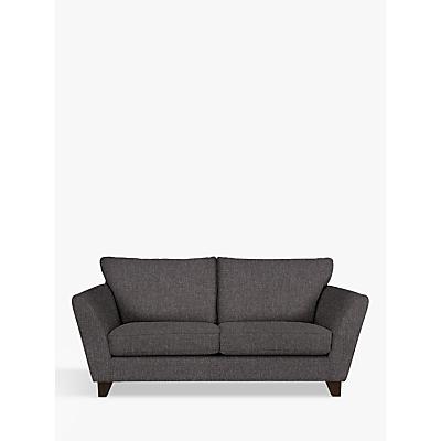 John Lewis & Partners Oslo Medium 2 Seater Sofa, Dark Leg, Drayton Charcoal