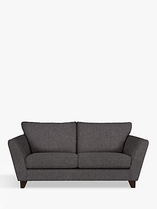 John Lewis & Partners Oslo Medium 2 Seater Sofa, Dark Leg, Drayton Charcoal