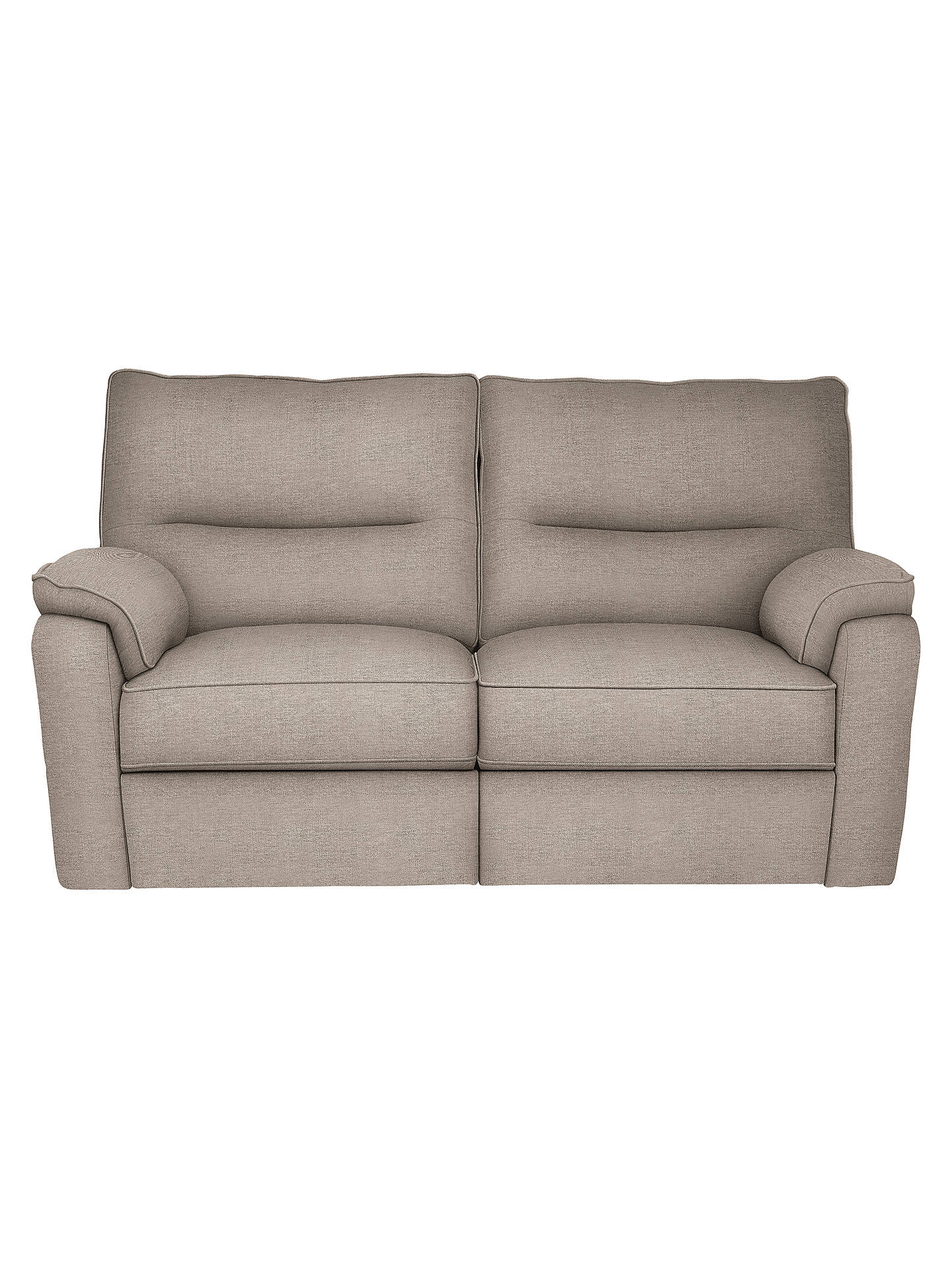 John Lewis Carlisle Small 2 Seater Manual Recliner Sofa Opal Putty Online At Johnlewis