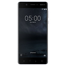 "Buy Nokia 5 Smartphone, Android, 5.2"", 4G LTE, SIM Free, 16GB Online at johnlewis.com"