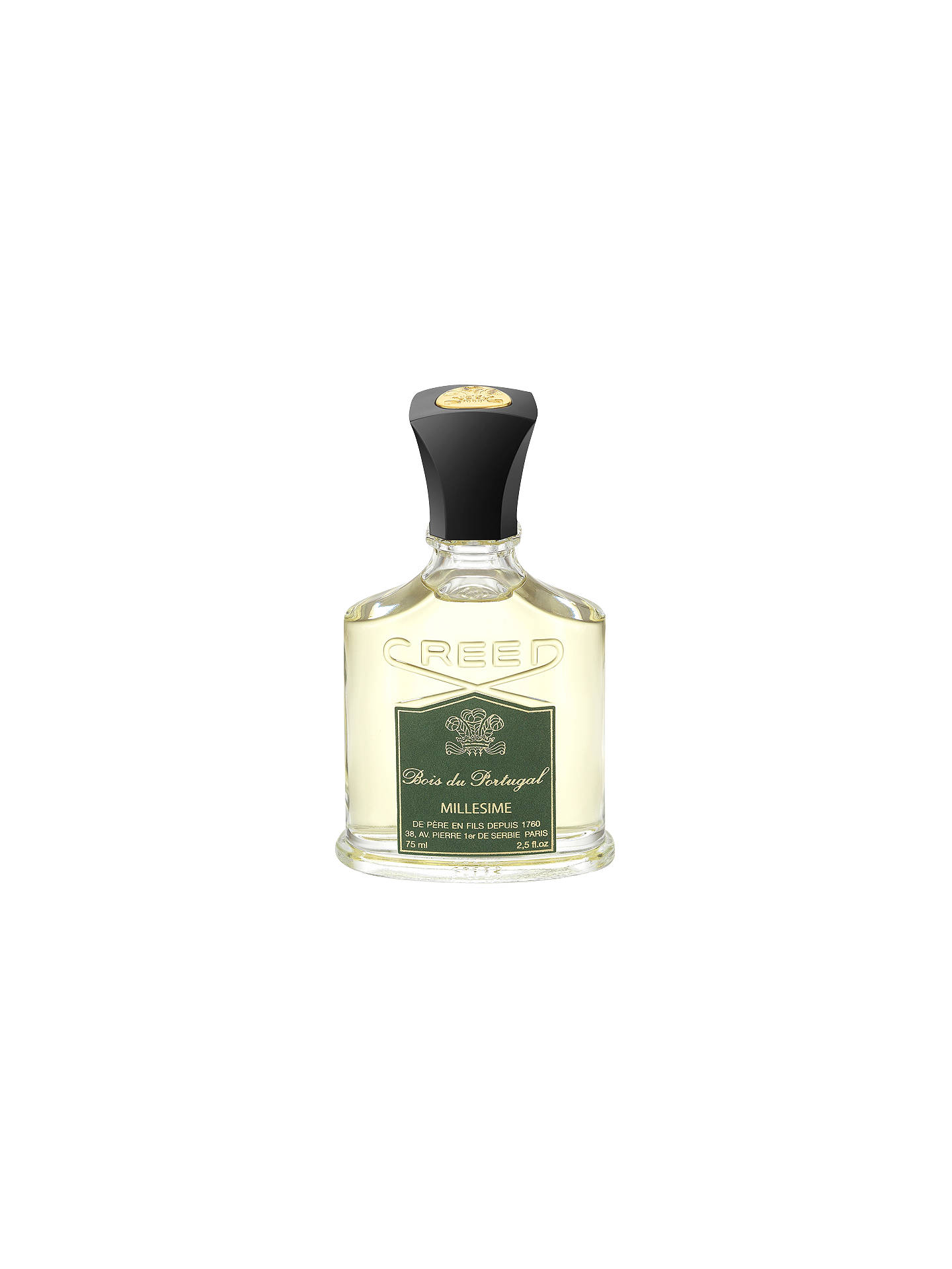 creed bois du portugal eau de parfum 75ml at john lewis. Black Bedroom Furniture Sets. Home Design Ideas