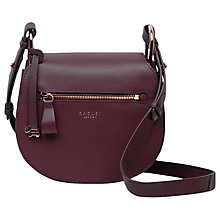 Buy Radley Camley Street Leather Flapover Across Body Bag Online at johnlewis.com