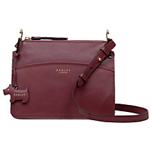 Buy Radley Richmond Park Leather Cross Body Bag Online at johnlewis.com