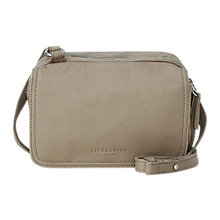 Buy Liebeskind Maike 7 Leather Cross Body Bag, Elephant Online at johnlewis.com