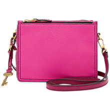 Buy Fossil Campbell Leather Cross Body Bag Online at johnlewis.com