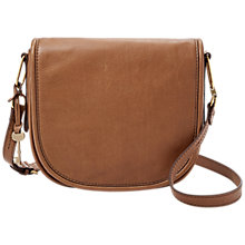 Buy Fossil Rumi Leather Cross Body Bag Online at johnlewis.com