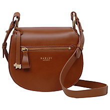 Buy Radley Camley Street Leather Flapover Cross Body Bag Online at johnlewis.com