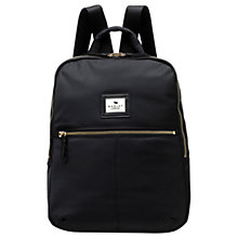 Buy Radley Gladstone Park Backpack, Black Online at johnlewis.com