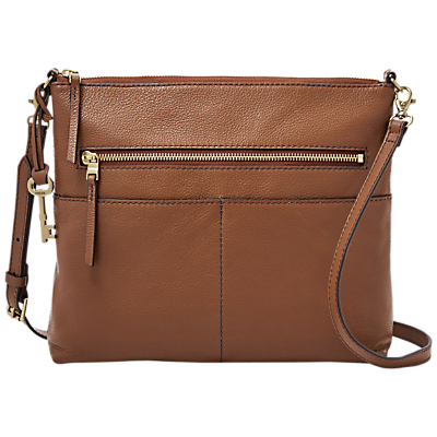 Fossil Fiona Leather Across Body Bag
