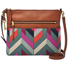 Buy Fossil Fiona Printed Cross Body Bag Online at johnlewis.com