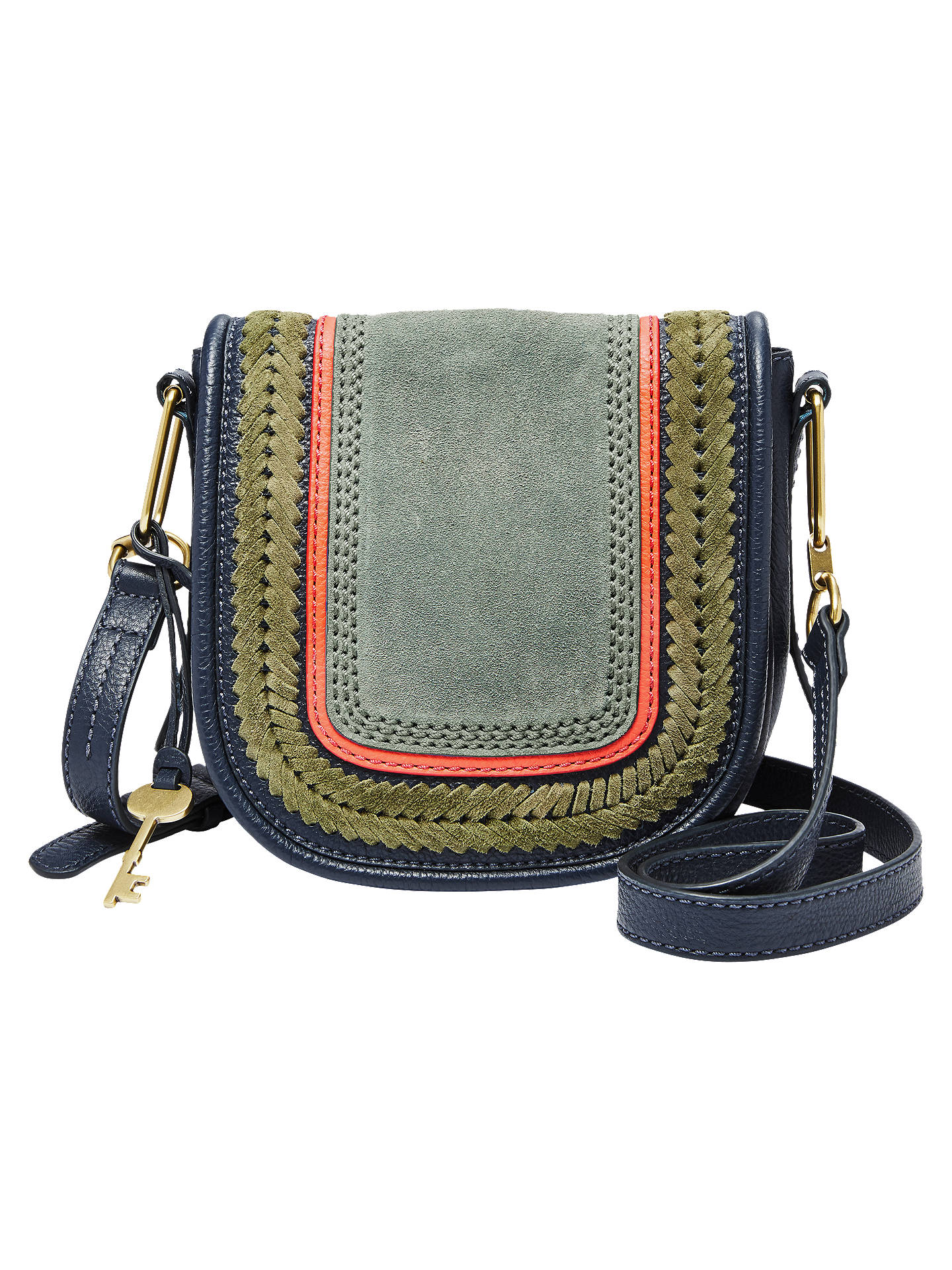 f570b4cb670d Buy Fossil Rumi Small Leather Cross Body Bag