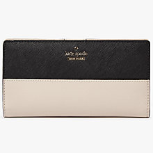 Buy kate spade new york Cameron Street Stacy Leather Continental Purse Online at johnlewis.com