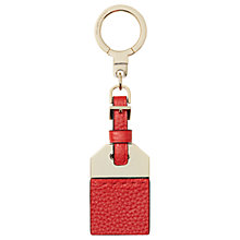 Buy kate spade new york Leather Tag Keyring, Red Carpet Online at johnlewis.com