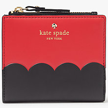 Buy kate spade new york Cameron Street Adalyn Leather Purse, Red Carpet Online at johnlewis.com