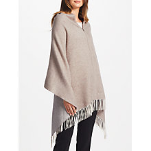 Buy Marc Cain Embellished Wool Cape, Beige Online at johnlewis.com