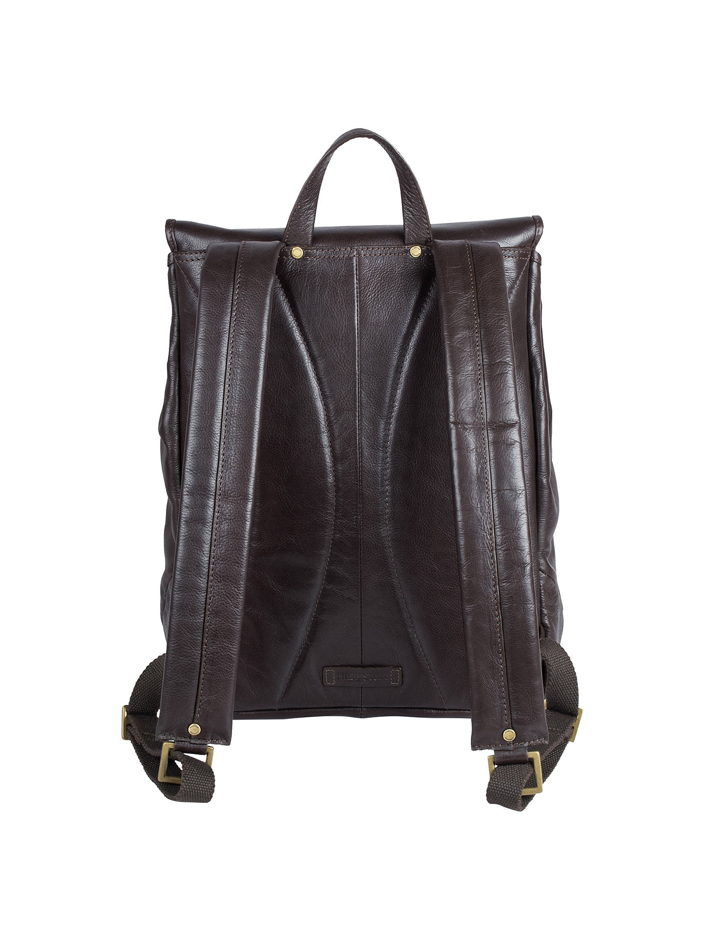 BuyHidesign Craig 01 Leather Backpack, Brown Online at johnlewis.com