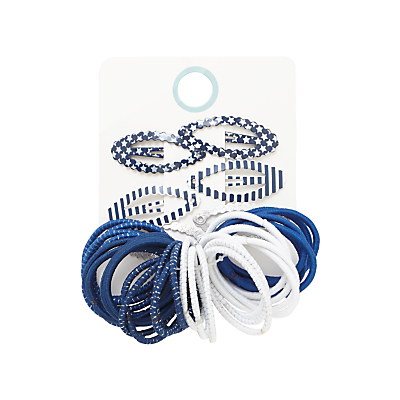 John Lewis Children's Hair Bobble And Clips, Pack of 26
