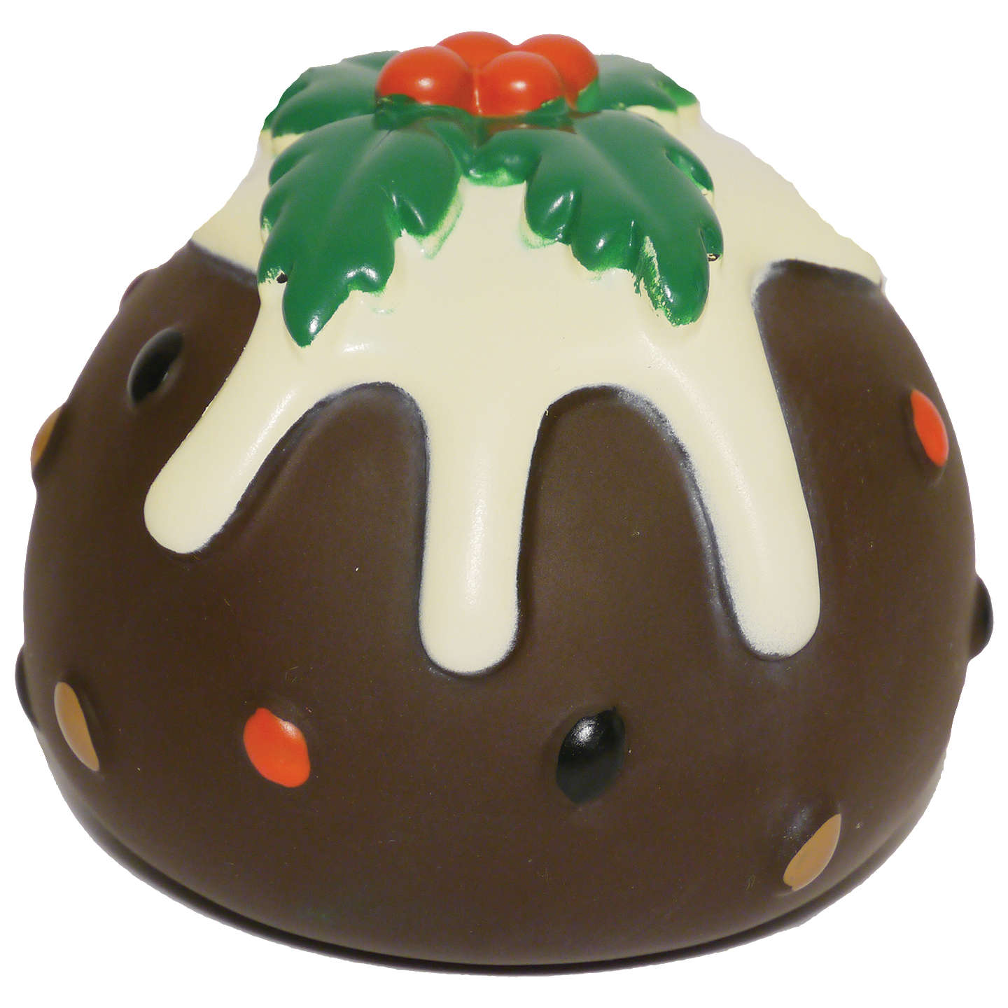 BuyRosewood Christmas Pudding Pet Toy, Brown Online at johnlewis.com