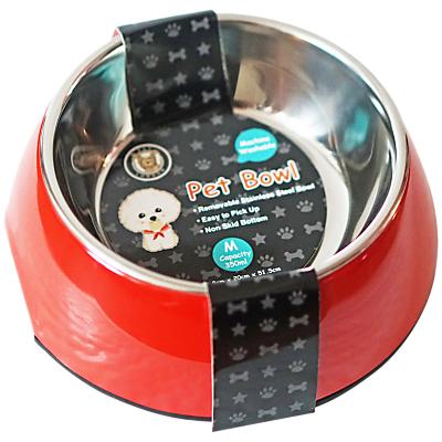 Image of Pet London Pet Bowl, Red