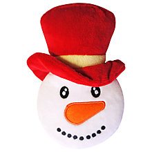 Buy Pet London Snowman Squeak Christmas Dog Toy, White Online at johnlewis.com