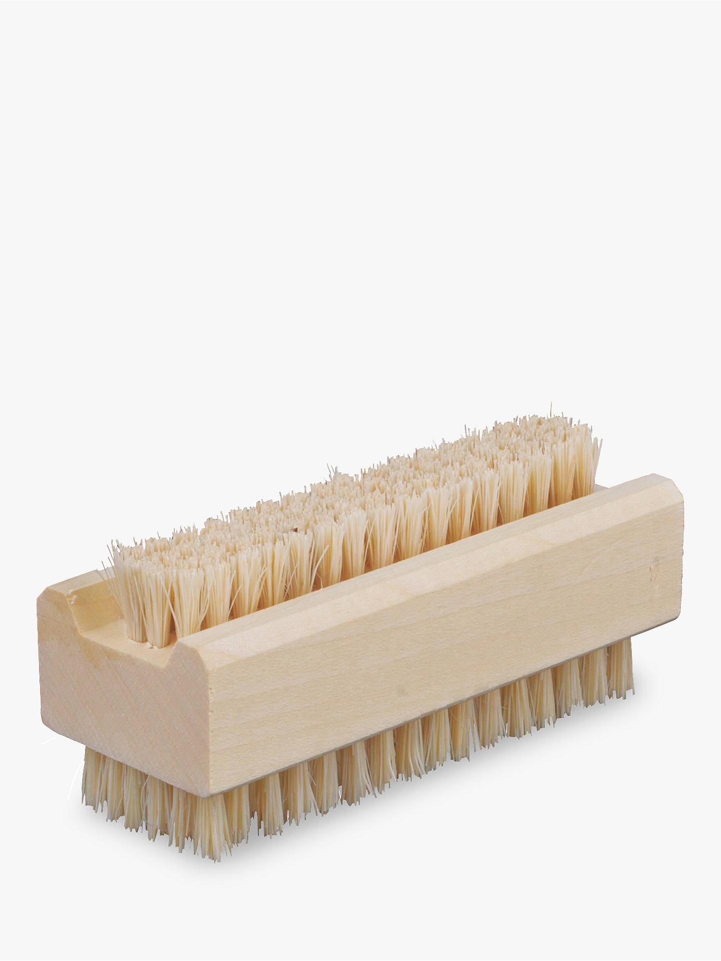 BuyRedecker Maple Wood Nail Brush Online at johnlewis.com