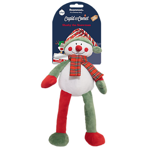 Rosewood Cupid & Comet Slushy the Snowman Dog Toy £7.99