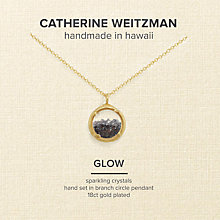 Buy Catherine Weitzman Mini Crystal Gem Shaker Round Pendant Necklace Online at johnlewis.com