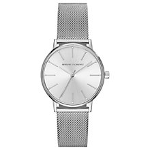 Buy Armani Exchange Women's Mesh Bracelet Strap Watch Online at johnlewis.com