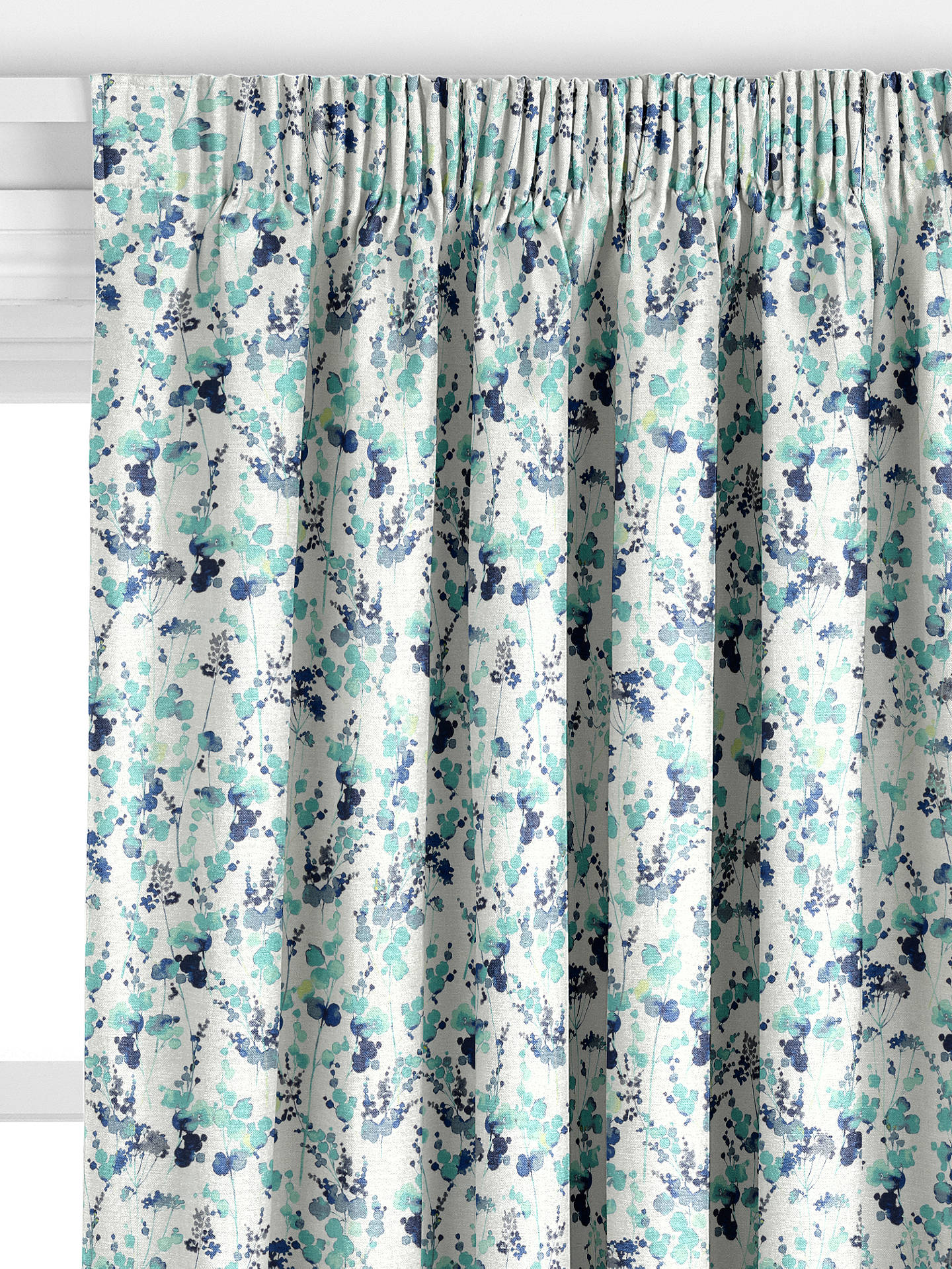 John Lewis Amp Partners Olsen Made To Measure Curtains Blue