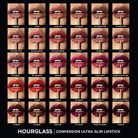 Buy Hourglass Confession Ultra Slim Refillable Lipstick Online at johnlewis.com