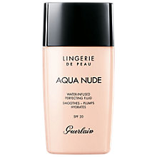 Buy Guerlain Lingerie De Peau Aqua Nude Foundation Online at johnlewis.com