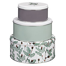 Buy John Lewis Highland Myths Cake Tins, Set Of 3 Online at johnlewis.com