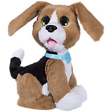 Buy Hasbro FurReal Chatty Charlie the Barkin' Beagle Online at johnlewis.com